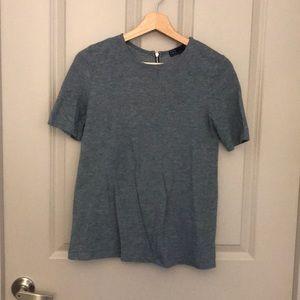 Gap Blue/Gray Blouse